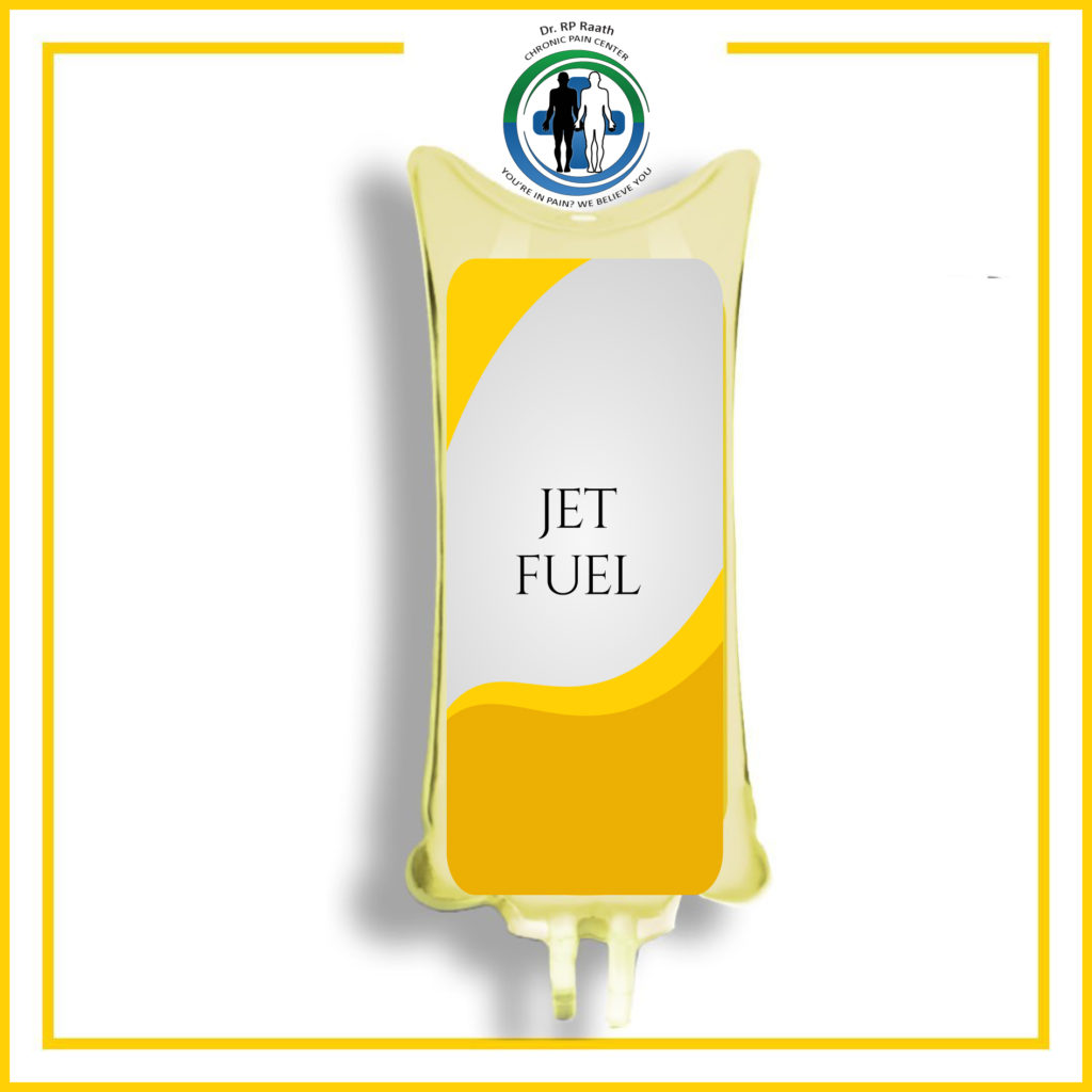 Jet Fuel Energy making restorative glutathion and N-acetyl-cystine